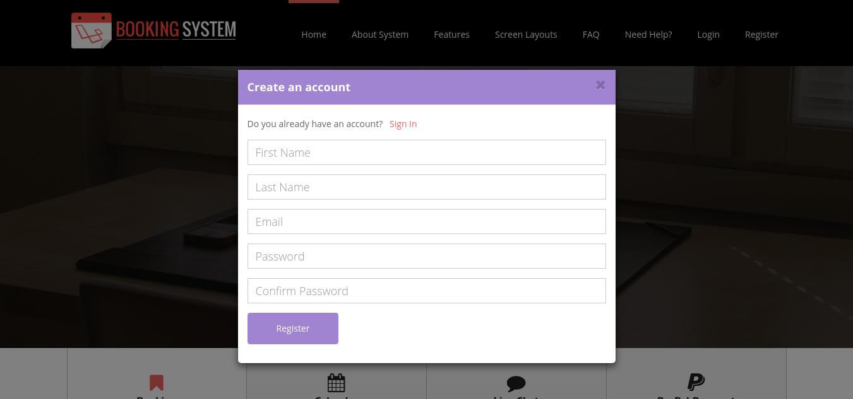 User Register